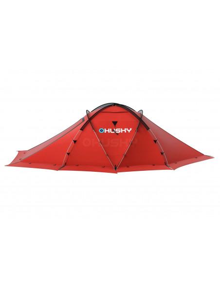 Tente HUSKY FIGTHER 3-4 personnes - Tente 4 Saisons-Coloris Vert
