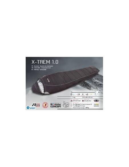 Sac de Couchage Wilsa X-TREM1.0 -10°