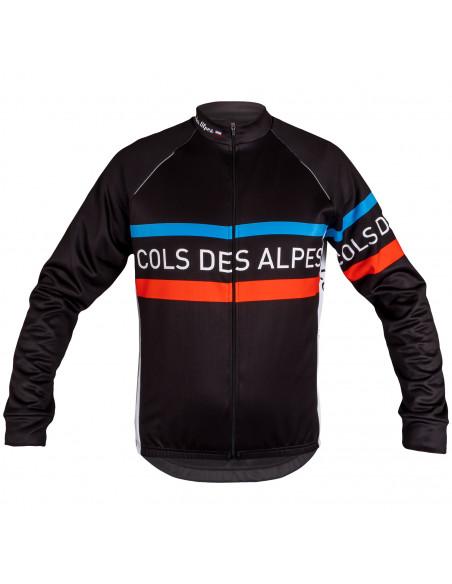Maillot de vélo manches longues Cols des Alpes Classic