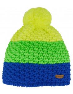 Bonnet Relax jaune, vert et...