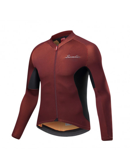 Maillot Cycle Long Mocha Santic