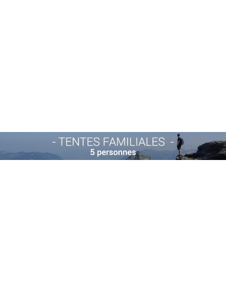 Tente Camping 5 Personnes