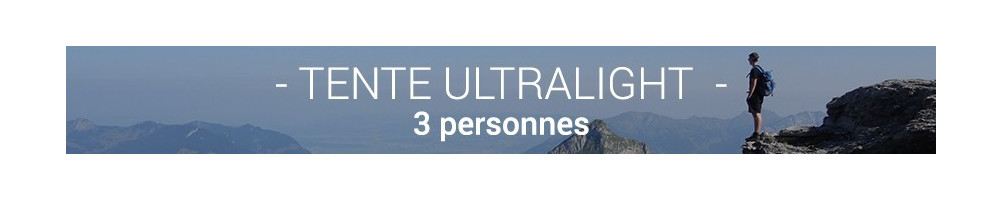Tente Ultralight 3 Personnes
