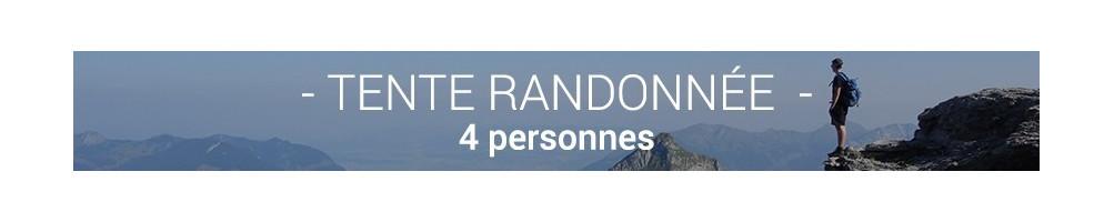 Tente Randonnée 4 Personnes - Pour vos randonnées et balades en groupe